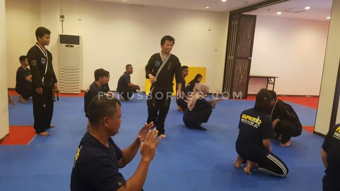 Kursus Singkat Hapkido Kaltara. Poto: fokusborneo.com