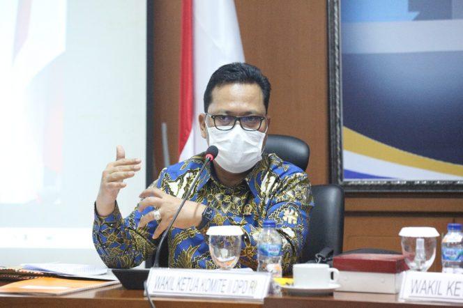 Pimpinan PURT DPD RI Hasan Basri. Foto : Istimewa