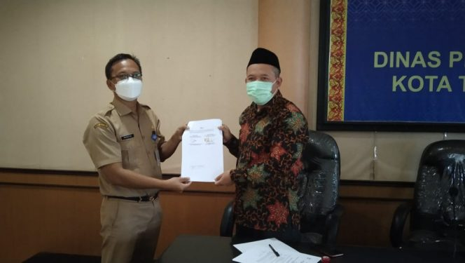 Dinas Pendidikan dan Kebudayaan Kabupaten Tana Tidung melakukan kerjasama dengan LPTK IAIN Samarinda, Senin (28/06) lalu.