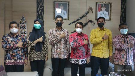 Minta Restu Gubernur Zainal, Khairi Rifqi dan Aurelia Salma Wakili Kaltara Jadi Paskibraka di Istana Negara