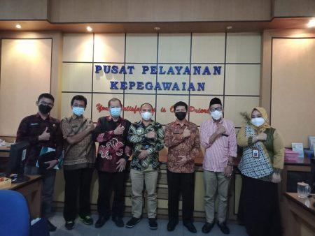 Anggota DPRD Kabupaten Tana Tidung, melaksanakan kunjungan kerja ke BKPSDM Kota Tarakan, Jumat (03/09).