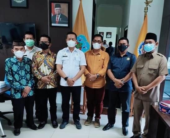 Komisi II DPRD Kabupaten Tana Tidung saat melakukan kunjungan kerja ke pemerintahan Provinsi Kaltara