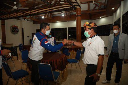 Gubernur Kalimantan Utara, Drs H.Zainal A Paliwang saat menghadiri pelantikan pengurus Komite Olahraga Rekreasi Masyarakat Indonesia (KORMI) Kota Tarakan. Foto: Biro Adpim Pemprov Kaltara