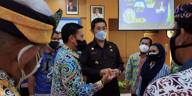 Wagub Kaltara Yansen TP Melakukan Kunjungan Kerja di RSUD Tarakan. Foto: fokusborneo.com