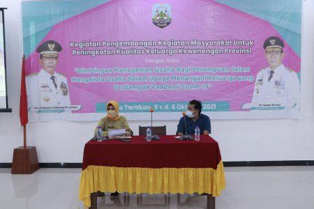 Tingkatkan Kualitas Keluarga di Tengah Pandemi, Pemprov Bimbing Pelaku UMKM dari Kaum Hawa