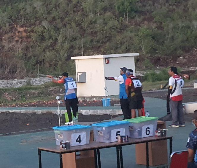 Atlet tembak Kaltara pada PON XX Papua