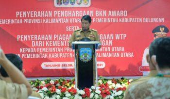 Gubernur Kalimantan Utara, Drs.H.Zainal A Paliwang, SH.M.Hum