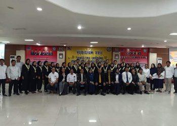 Fekom UBT Laksanakan Yudisium 40 Orang Sarjana Baru/Poto : Istimewa