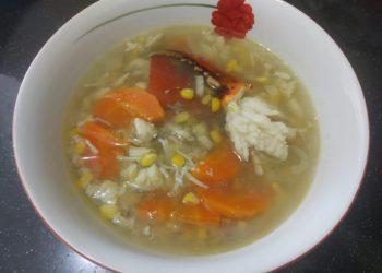 Sup Kepiting / Poto : Neni