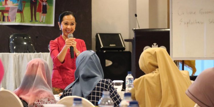 Kementerian PPPA Berikan Pelatihan Parenting Era Digital Kepada Orang Tua, (30/7). Poto/Istimewa.