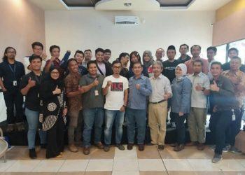 Silaturahmi Jajaran Management PT Medco E&P Bersama Awak Media di Tarakan (19/7). Poto : Istimewa