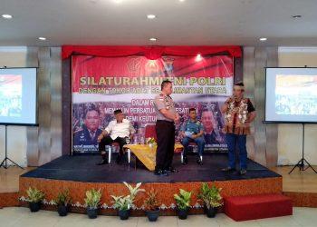 Kapolda Kaltara Brigjen Pol Indrajit Jalin Silaturahmi Bersama TNI, Pemeritah Daerah dan Tokoh Adat se-Kaltara Rabu (31/7). Poto/Ari