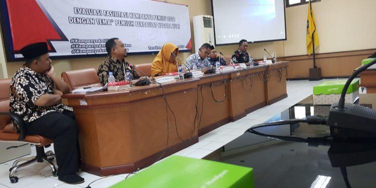Evaluasi Pemilu 2019 Oleh KPU Tarakan Kamis (1/8). Poto/Ari