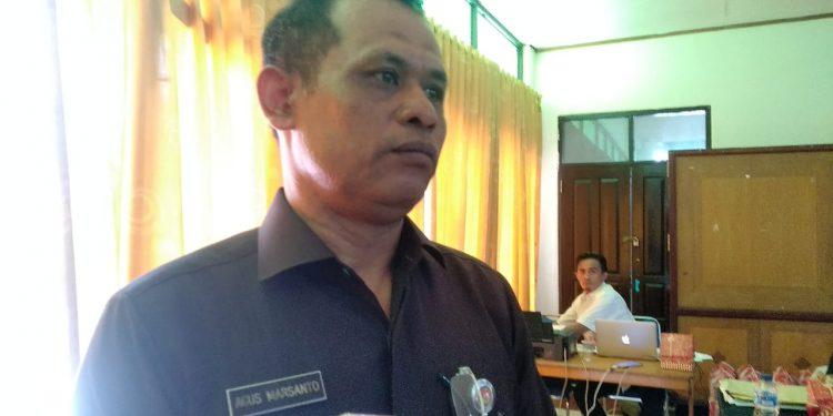 Kakanwil Kemenhan Prov Kaltara Kolonel Inf Agus Marsanto. Poto/Ari