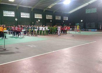 Pembukaan Pra PON XX di Gedung Tennis Indoor Telaga Keramat Tarakan, Kaltara (2/8). Poto : Ari
