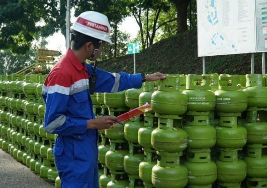 Pertamina Tambah Stok Elpiji 3 Kg Jelang Idul Adha 1440 H. Poto : Istimewa.