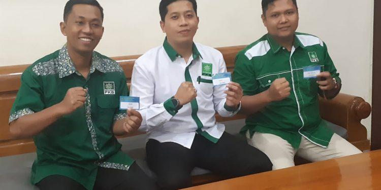 Calon Ketua Definitif DPRD Kota Tarakan Al Rhazali (Tengah Baju Putih) saat mengikuti fit and propertest beberapa waktu lalu. Poto: Istimewa