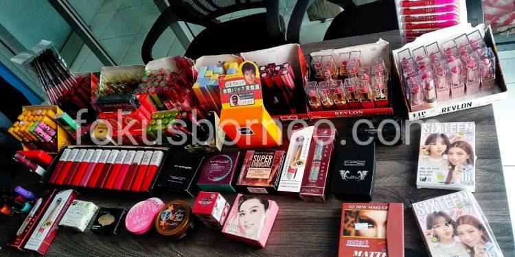 Kosmetik hasil Sitaan BPOM di Kota Tarakan. Poto : Ari/Fokusborneo