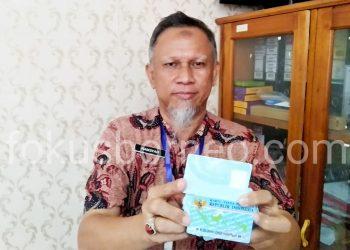 Plt Kadisdukcapil Tarakan Hamsyah, Poto : Ari/Fokusborneo