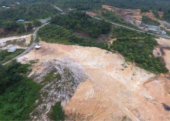 LOKASI : Rencana lokasi RSUD Tipe B Tanjung Selor. Poto : Humas Pemprov Kaltara