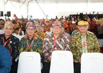HARTEKNAS 2019 : Gubernur Katara Dr H Irianto Lambries saat menghadiri acara puncak peringatan Hakteknas 2019 di Bali, Rabu (28/8).Poto: Humas Pemprov Kaltara