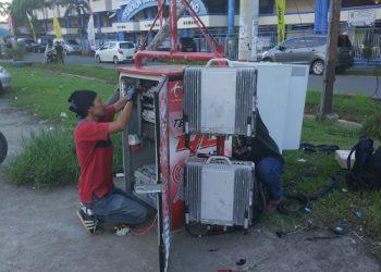 Akselerasi Calon Ibu Kota Indonesia, Telkomsel telah menggelar lebih dari 17.800 unit Base Transceiver Station (BTS), dimana sekitar 11.700 di antaranya merupakan BTS broadband dan 62 GraPARI yang tersebar di seluruh wilayah Kalimantan. Poto: Isitimewa