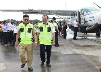 SUBSIDI : Gubernur Kaltara Dr H Irianto Lambrie saat meresmikan peluncuran SOA 2019, belum lama ini.Poto: Humas Pemprov Kaltara