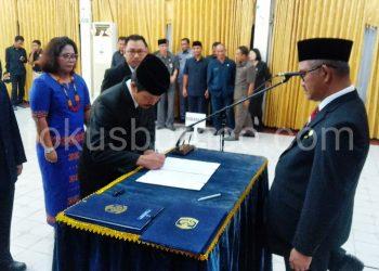 Walikota Tarakan Khairul Lantik 226 Pejabat Tinggi Pratama di Lingkungan Pemkot Tarakan, (4/9). Poto : Ari/Fokusborneo
