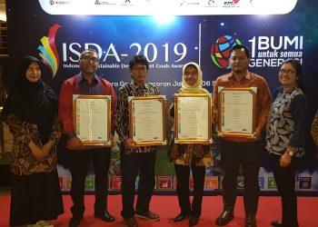 Pertamina EP Borong Penghargaan ISDA-2019. Poto : Pertamina EP