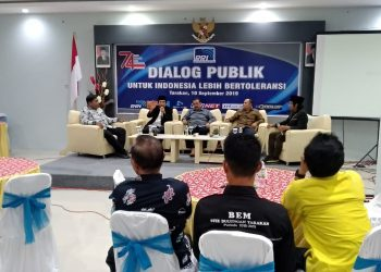 Dialog Publik untuk Indonesia Lebih Bertoleransi, Selasa (10/9). Poto: Ari/fokusborneo