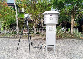 Alat Ukur Udara HVAS milik Dinas Lingkungan Hidup Kota Tarakan. Poto: Ari/fokus borneo