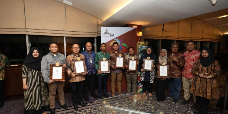 Pertamina EP mendapatkan penghargaan The Best Nusantara CSR Award.Poto:Istimewa