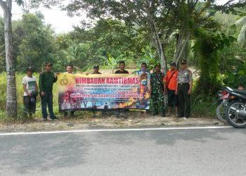 Bersama Instansi Terkait Babinsa Koramil Tarakan Timur Rutin Patroli Wilayah.Poto:Istimewa
