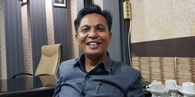 Yulius Dinandus, Wakil Ketua DPRD Tarakan. Poto: Slamet/Fokusborneo