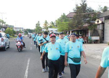 HARI OEANG : Asisten III Setprov Kaltara, H Zainuddin HZ saat menghadiri peringatan Hari Oeang Republik Indonesia, Sabtu (26/10) lalu.Poto:Humas Pemprov Kaltara