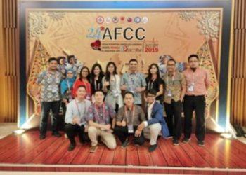 AJANG INTERNASIONAL : Delegasi RSUD Tarakan, Kaltara yang menghadiri AFCC 2019.Poto: Humas Provinsi Kaltara