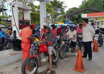 Rombongan Komisi 2 DPRD Tarakan Sidak Ke SPBU. (21/10). Poto: Slamet/fokusborneo.com