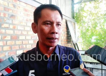 Supa'ad Hadianto, Sekretaris DPW Partai Nasdem Kaltara. Poto: Ari/fokusborneo