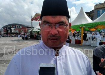 Kepala Kemenag Tarakan Shaberah. Poto: fokusborneo.com