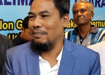 Sabar Santosa, Ketua Tim Penjaringan Balon Gubernur dan Wakil Gubernur Kaltara, DPW PAN Kaltara. Poto: fokusborneo.com