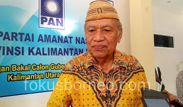 Udin Hianggio, Bakal Calon Gubernur dan Wakil Gubernur Kaltara, Poto: Ari / fokusborneo.com