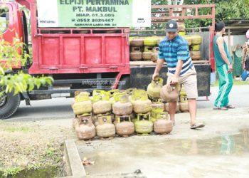 PENGAWASAN : LPG merupakan salah satu jenis bahan bakar yang ditingkatkan pengawasannya oleh Pemprov Kaltara.Poto: Humas Provinsi Kaltara