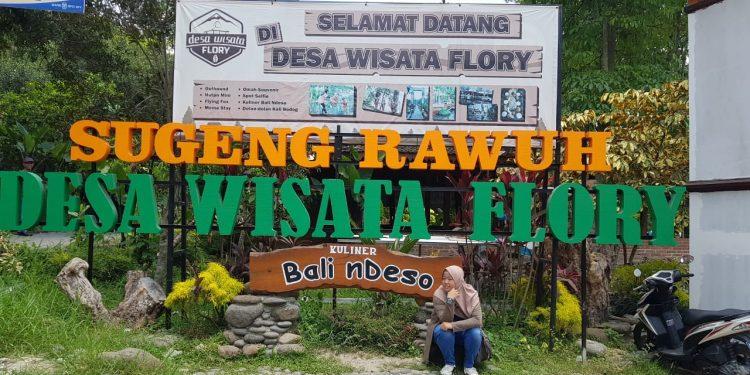 Desa Wisata Kampung Flory, Jogyakarta. Poto: Slanet / fokusborneo.com