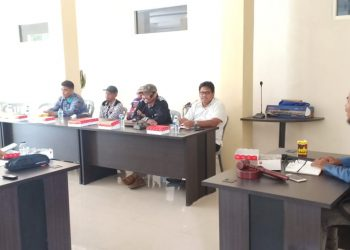 DPW PAN Kaltara Gelar Technical Meeting sampaikan jadwal Pemaparan Visi Misi Bacalon Gubernur Kaltara (1/11). Poto: Istimewa