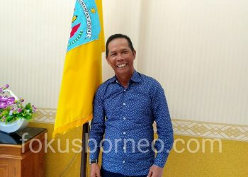Bupati Kabupaten Tana Tidung Undunsyah. Poto: Ari / fokusborneo.com
