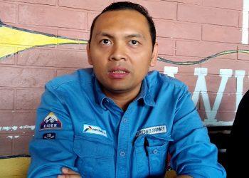 Enriko R.E Hutasoit, Asisten Manager Legal and Relation PT Pertamina EP Asset 5 Tarakan Field. Poto : Ari / fokusborneo.com