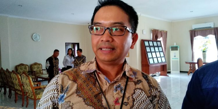 Mochamad Ardian Noervianto Direktur Fasilitasi Dana Perimbangan dan Pinjaman Daerah Kemendagri. Poto: Ari / fokusborneo.com