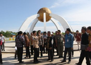 Direktur Fasilitasi Dana Perimbangan dan Pinjaman Daerah Kunjungi KTT (22/11). Poto: Istimewa
