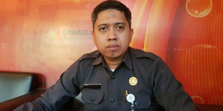 Sekretaris panitia seleksi Panwascam Kota Tarakan Rahmat Nur saat