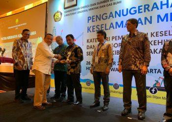 Pertamina EP Terima Penghargaan Patra Nirbhaya Karya Utama. Poto: Istimewa